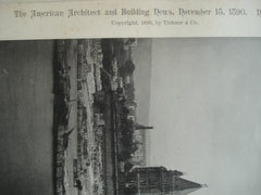 New Barracks , Dresden, Germany, EUR, 1890, Unknown
