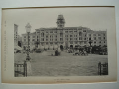 City Hall , Trieste, Austria, EUR, 1890, Herr Bruni