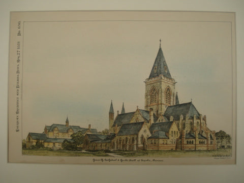 Grace Church Cathedral & Guild Hall , Topeka, KS, 1889, Unknown