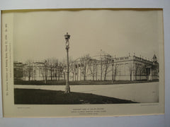 Northeast Annex of the Art Building for the World's Columbian Exhibition , Chicago, IL, 1894, Charles B. Atwood