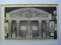 Pedimental Sculpture (half-scale model) for the Pennsylvania Railroad Station , Philadelphia, PA, 1894, Carl Bitter, Sculpture