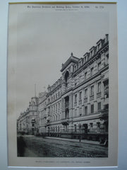 Bathing Establishment, 14-15 Kurfursten Str., Dresden, Germany, EUR, 1890, Unknown