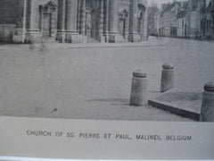 Church of SS. Pierre et Paul , Malines, Belgium, EUR, 1890, Unknown