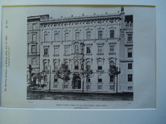 House of Herr Sturany on the Schottenring , Vienna, Austria, EUR, 1890, Herr Sturany