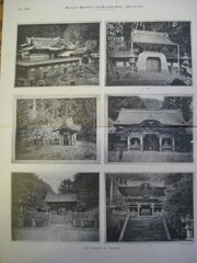 Temple of Iyemitsu , Nikko, Japan, ASIA, 1896, Unknown