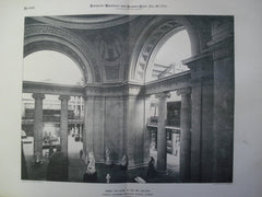 Under the Dome of the Art Gallery for the World's Columbian Exhibition , Chicago, IL, 1894, Charles B. Atwood