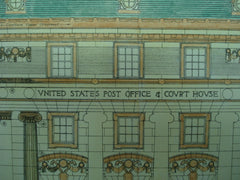 United States Post Office & Court House , Creston, IA, 1902, James Knox Taylor