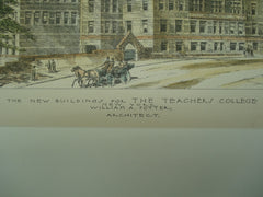 New Buildings for the Teacher's College , New York, NY, 1893, William A. Potter