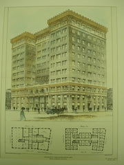 New Board of Trade Building , Boston, MA, 1902, Winslow & Bigelow