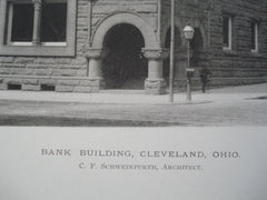Bank Building , Cleveland, OH, 1890, C.F. Schweinfurth
