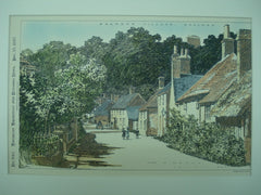Bramber Village , West Sussex, England, UK, 1897, Unknown