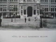 Hotel de Ville , Schaerbeek, Belgium, EUR, 1892, Unknown