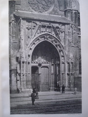 Doorway of Notre Dame du Sablon , Brussels, Belgium, EUR, 1892, Unknown