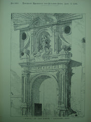 Portal of San Miguel , Saragossa, Spain, EUR, 1896, Unknown