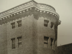 House of Wm. Power Wilson, Esq., on Granby St. and Bay State Road, Boston, MA, 1902, J. Ph. Rinn