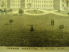 Insane Hospital , St. Peter, MN, 1900, unknown