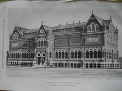 Museum of Fine Arts , Boston, MA, 1880, Sutrgis & Brigham