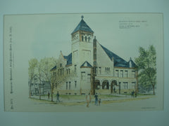 Belknap County Court House , Laconia, NH, 1893, William M. Butterfield