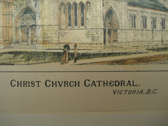 Christ Church Cathedral , Victoria, British Columbia, CAN, 1893, Evans & Keith