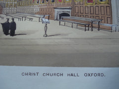 Christ Church Hall , Oxford, England, UK, 1845, Unknown