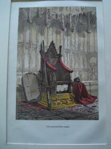 Coronation Chair [King Edward's Chair]: Westminster Abbey , London, England, UK, 1845, Unknown