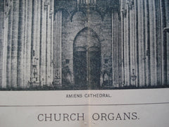 Church Organs, n/a, 1894, Unknown