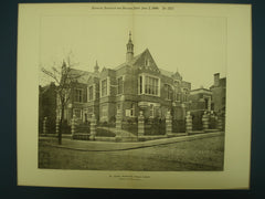 Public Library, Hampstead, MA, 1900, Arnold S. Taylor