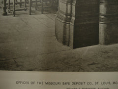 Missouri Safe Deposit Co. Offices, St. Louis, MO, 1887, Thayer & Robinson