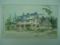 House for David Rice, Esq., Marion, MA, 1894, Arthur Wallace Rice