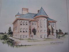 School, Southbridge , MA, 1898, Penn Varney