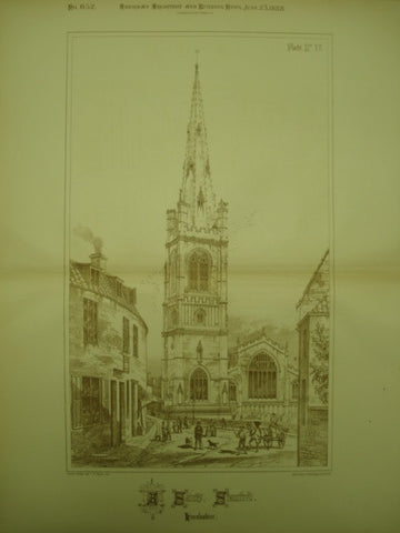 All Saints Church, Stamford, Lincolnshire, England, UK, 1888, Unknown