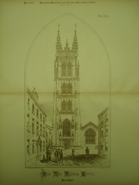 Church of Saint Mary Magdaline , Taunton, Somersetshire, England, UK, 1888, Unknown