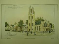 Central Presbyterian Church , Summit, NJ, 1905, Unknown
