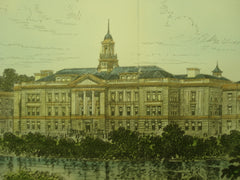 Simmons College , Boston, MA, 1903, Peabody & Stearns