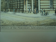 Offices of the Northern Assurance Company at Union Terrace , Aberdeen, Scotland, UK, 1883, Matthews and Mackenzie
