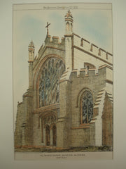 All Saints' Church , Edington, Wiltshire, England, UK, 1872, Unknown