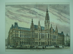 New Town Hall , Vienna, Austria, EUR, 1883, Unknown