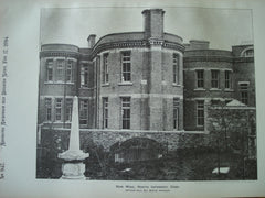 New Wing at the North Infirmary , Cork, Ireland, EUR, 1894, Arthur Hill