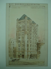 Office Building , Minneapolis, MN, 1888, L. S. Buffington