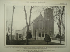 Church of the Immaculate Heart of Mary , Winchendon, MA, 1913, John William Donohue