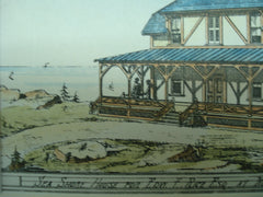 Sea Shore House for Edw. F. Rice , Manchester , MA, 1876, Lord & Fuller