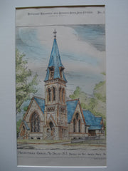 Presbyterian Church , Mount Holly, NJ, 1886, Pursell and Fry