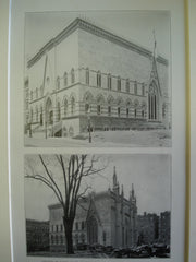 Church of Notre Dame de Lourdes, West 141st Street, New York, NY, 1905, Unknown