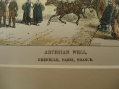 Artesian Well in Grenelle, Paris, France, EUR, 1877, unknown