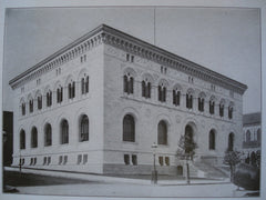 Maryland Institute, Baltimore, MD, 1908, Messrs. Pell & Corbett