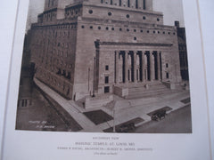 Southwest View Masonic Temple, St. Louis, MO, 1927, Eames & Young
