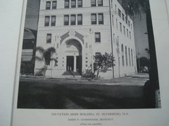 Salvation Army Building, St. Petersburg, FL, 1927, Harry F. Cunningham