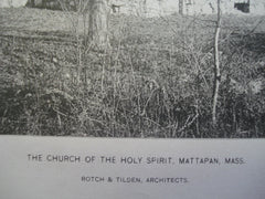 Church of the Holy Spirit , Mattapan, MA, 1886, Rotch & Tilden
