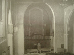Interior of the Redeemer Presbyterian Church , Detroit, MI, 1926, George D. Mason & Co.
