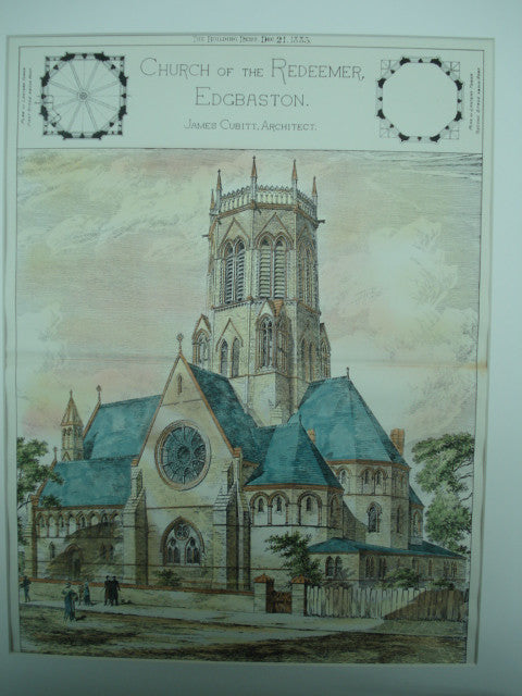 Church of the Redeemer , Edgbaston, UK, 1883, James Cubitt